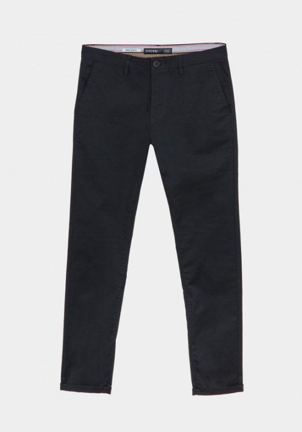 Pantalón Chino Skinny Fit Negro