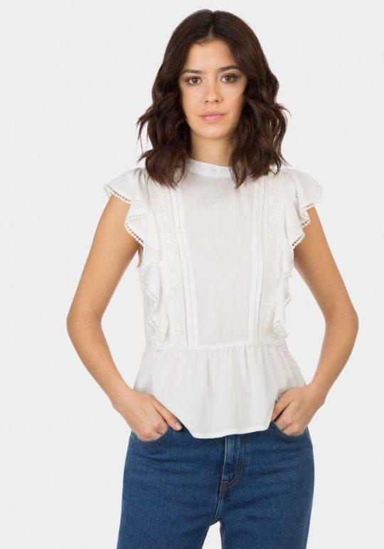 Blusa Blanca Layla