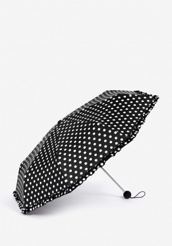 Paraguas lunares blancos