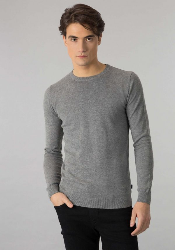 Sweater Boss Gris
